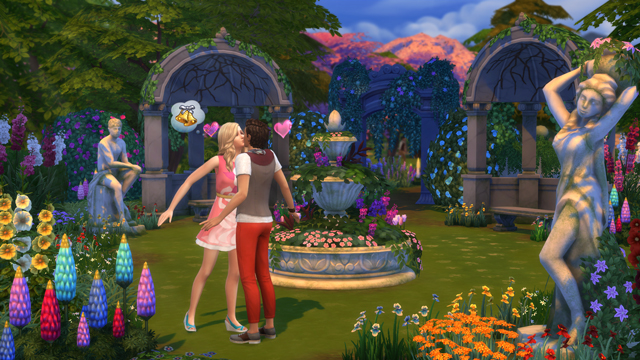 sims 4 romantic garden stuff pack features