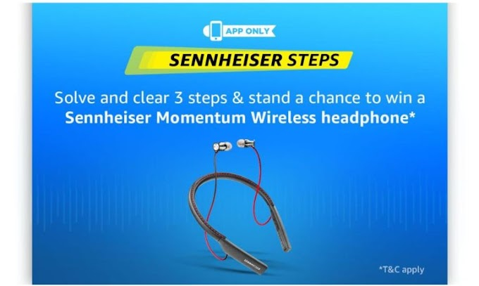 (All Answers) Amazon Sennheiser Quiz-Answer & Win Free Headphones