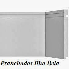 Rodapé de Poliestireno Santa Luzia 505 Branco