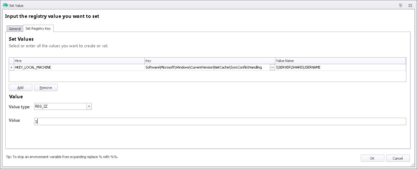 AppSense DesktopNow Environment Manager and Offline Files