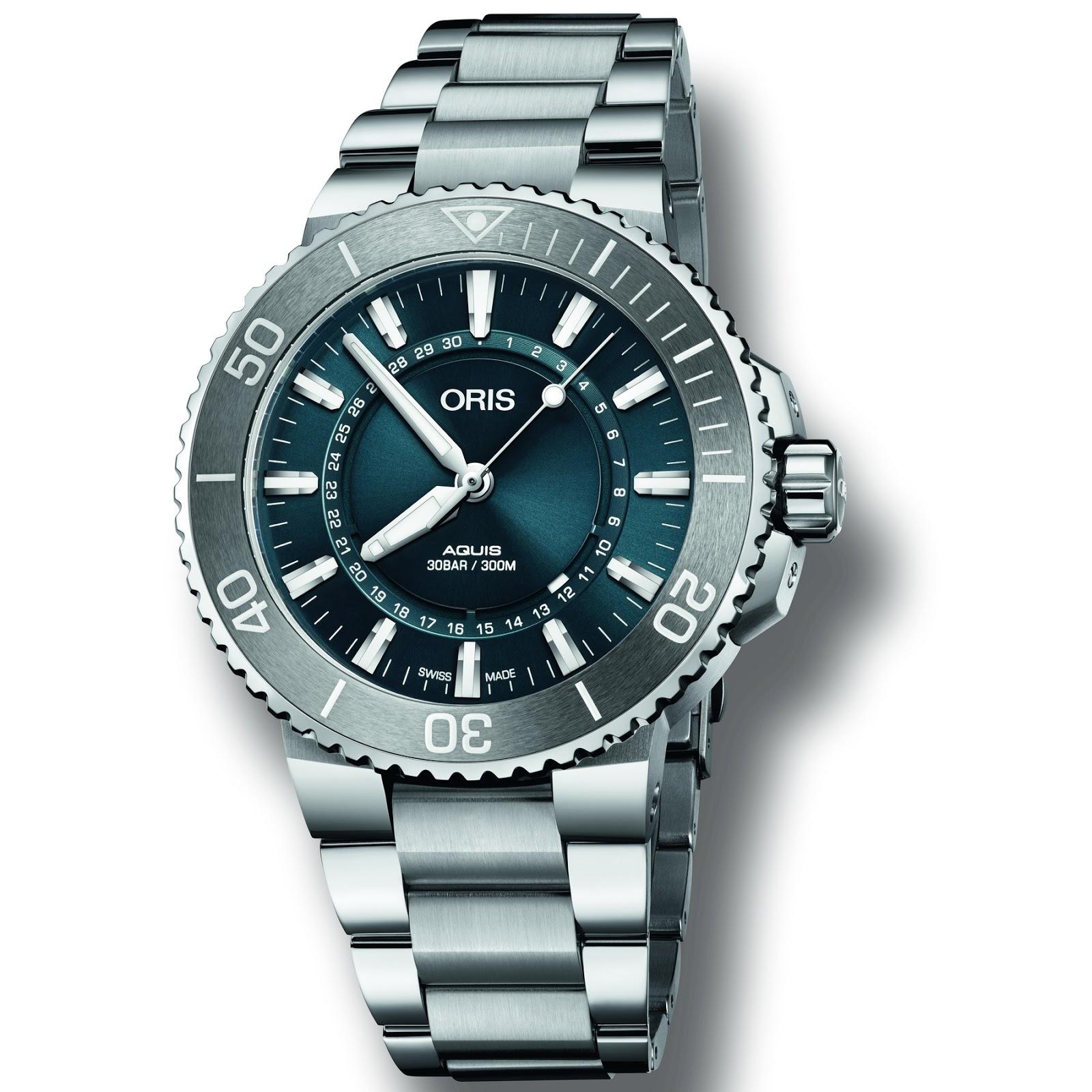 OceanicTime - ORIS Aquis Source of Life Ltd EDITION 301d436be7
