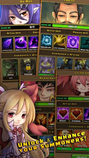 Tap Summoner Apk v1.0.6d Mod (Free Shopping)6