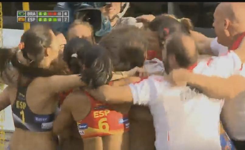 España campeón mundial Beach Handball 2016