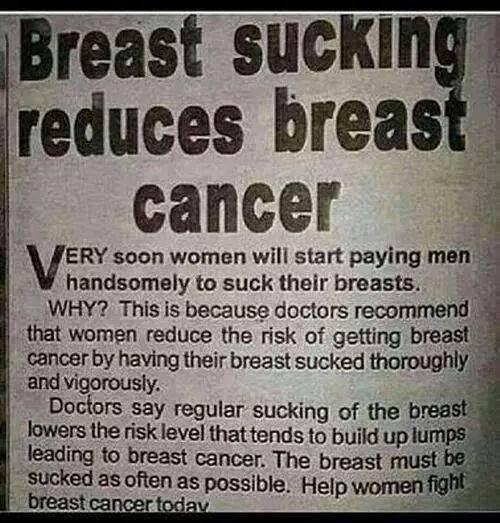 Breast love man suck why womens