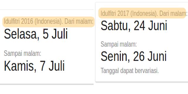 Ternyata ini Alasan Kenapa Ramadhan dan Idul Fitri Selalu Maju Tiap Tahun