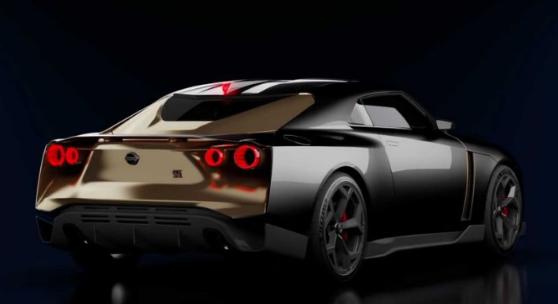 2020 Nissan GT-R50 concept