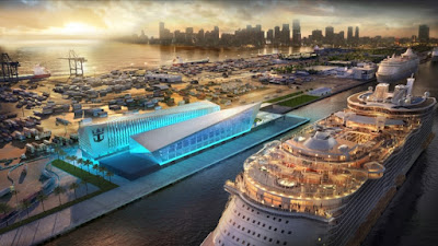 Royal Caribbean's Proposed New Cruise Terminal in Miami Capable of Handling an Oasis Class Ship.