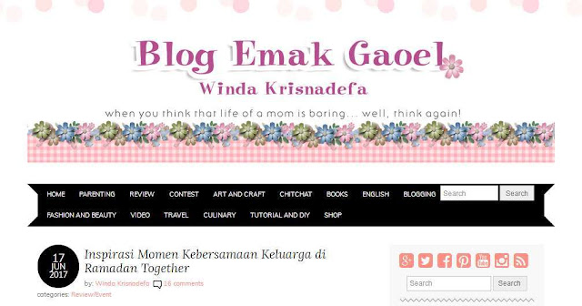 Emakgaoel.com - Blog Pribadi Terbaik Di Indonesia