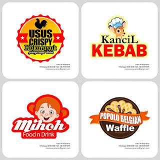 logo makanan usus crispy