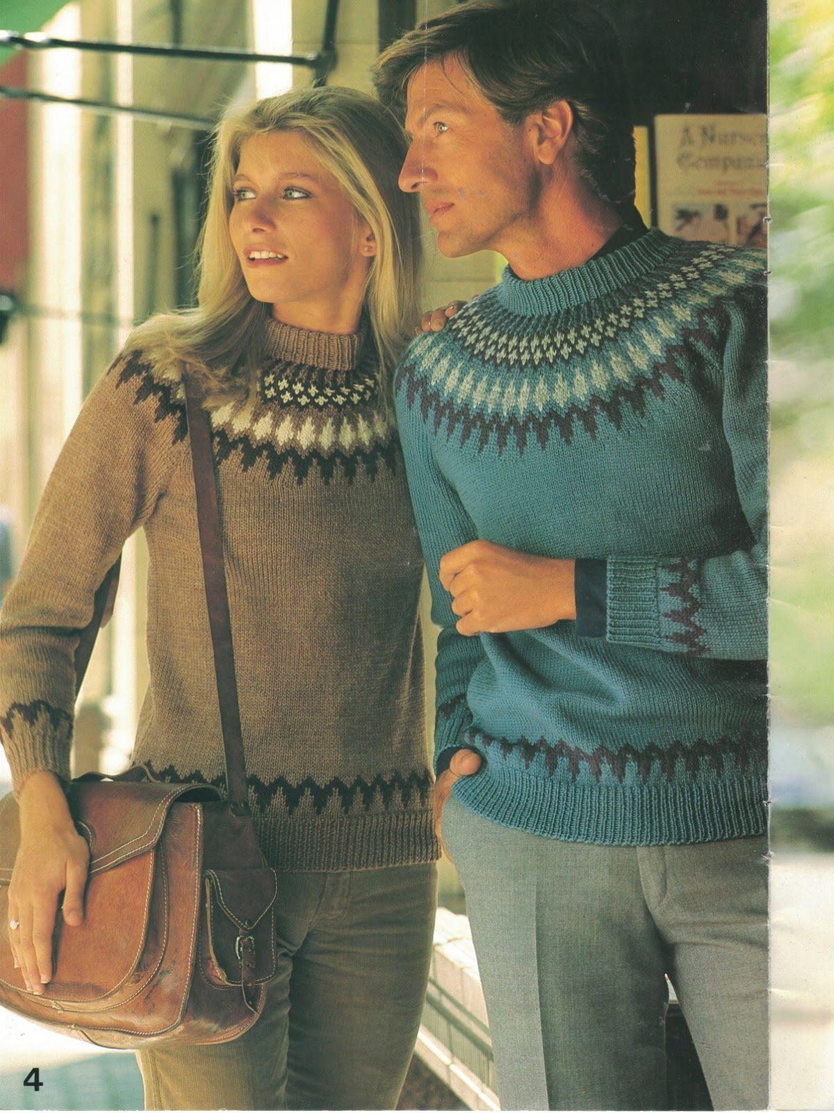 The Vintage Pattern Files: 1980s Knitting - Patons No. 671 Fair Isle Fashion ...