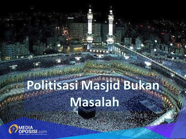 Hasil gambar untuk politik di masjid
