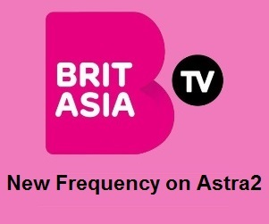 Brit Asia TV Channel New Frequency on Astra2