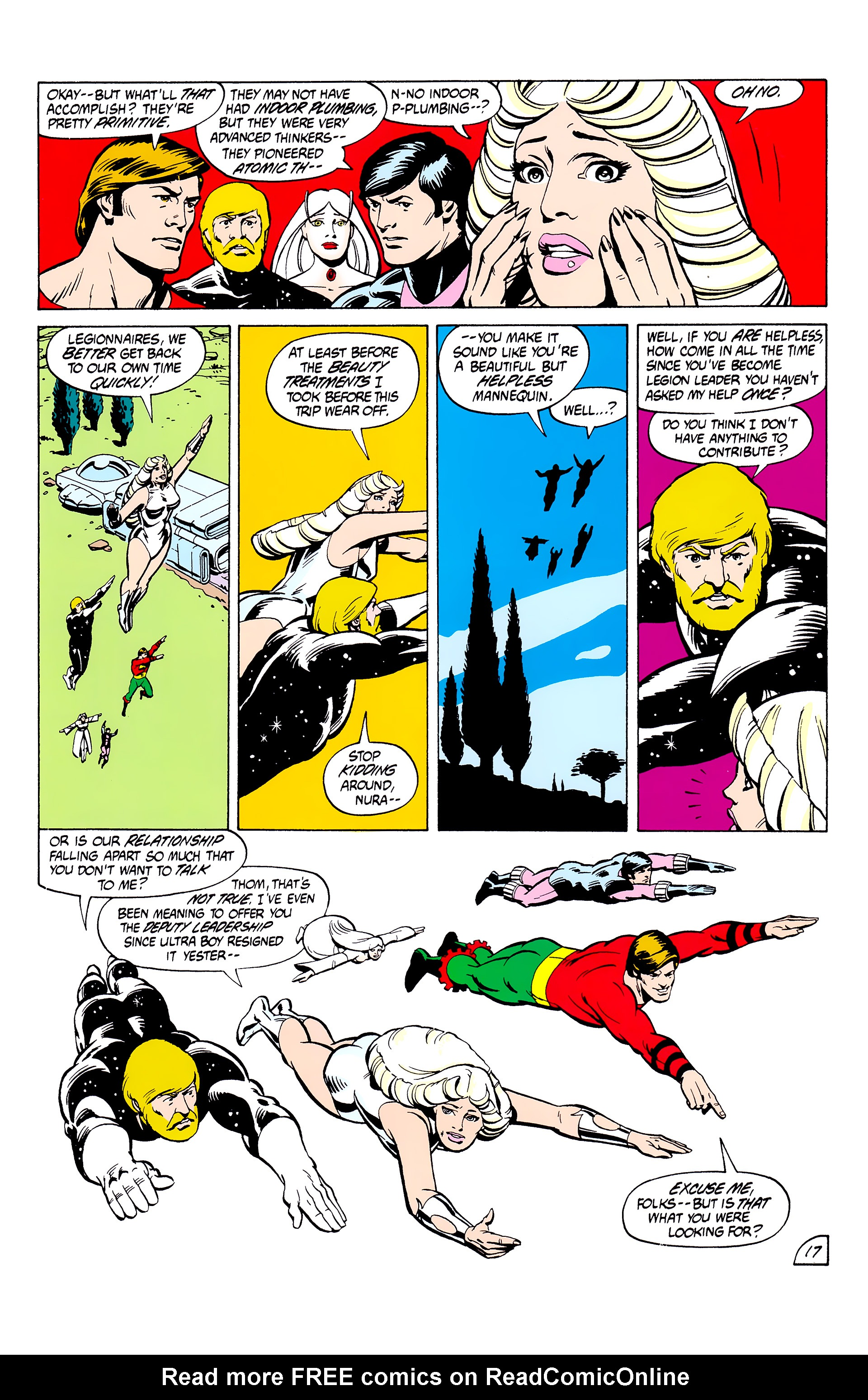 Legion of Super-Heroes (1980) _Annual_2 Page 17