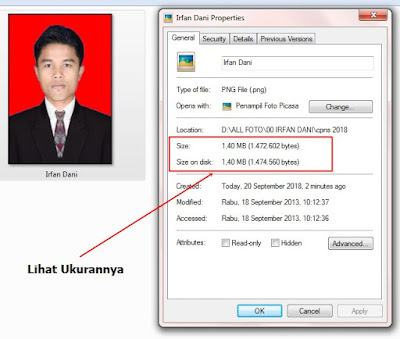 Cara Mudah Memperkecil Ukuran File Photo Untuk Syarat Pendaftaran CPNS 2018