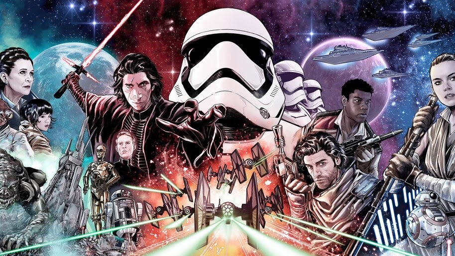 Star Wars The Rise of Skywalker, Character, Art, 4K, #7.723