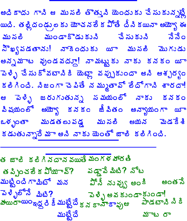 Amma srungara kathalu Com