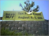 Best Buy tax-free holiday back to school taxes