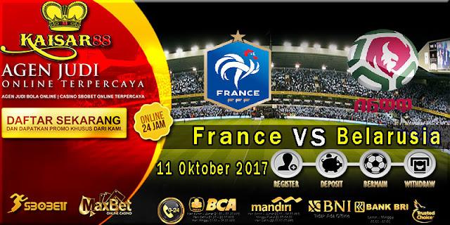 Prediksi bola terpercaya World Cup France vs Belarus 11 Oktober 2017