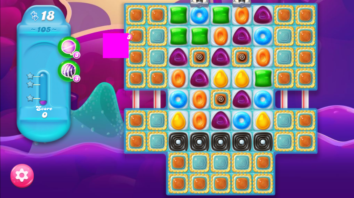 Candy Crush Jelly Saga 105