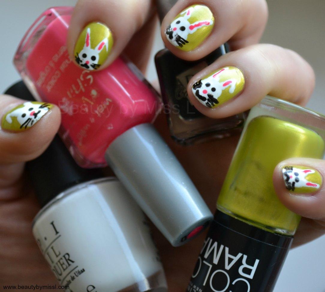 Maybelline Colorama #181, OPI Alpine Snow, Wet n Wild Dreamy Poppy, Aden Cosmetics