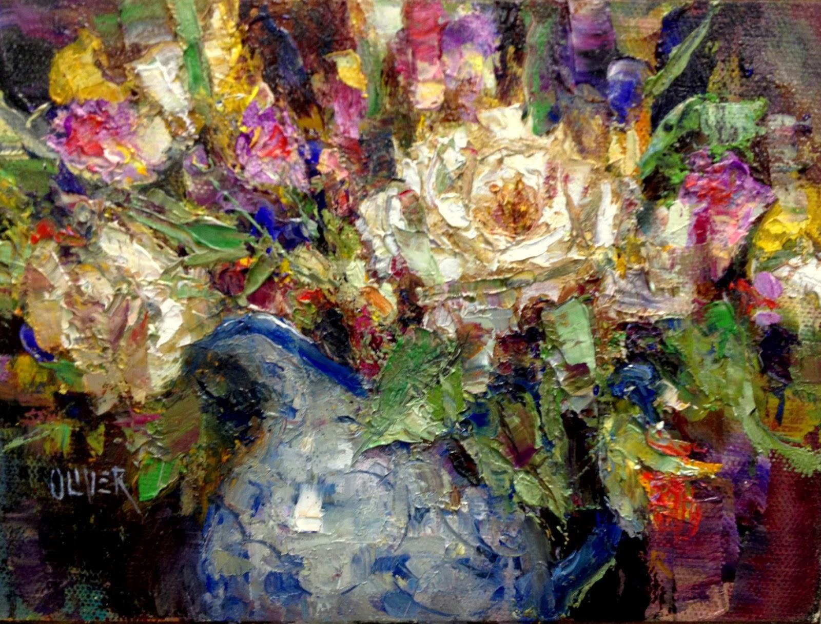 Art Talk Julie Ford Oliver Birthday Flowers