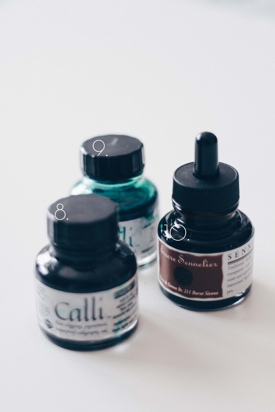inks for calligraphy