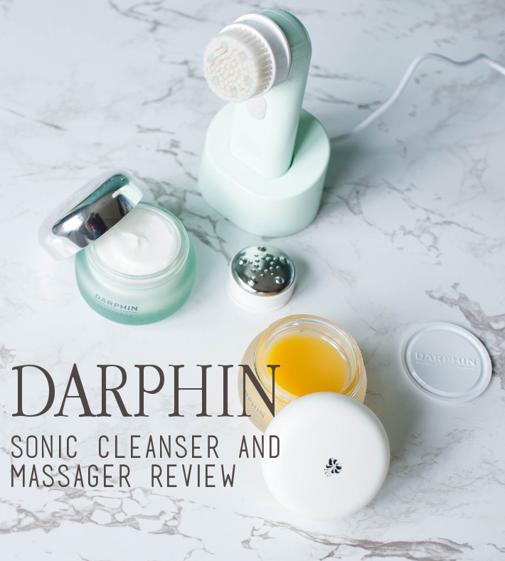Beauty: Darphin Sonic Cleanser and Massager review