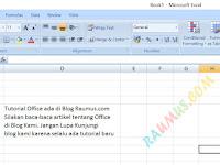 Cara Membuat Dua Baris Dalam Satu Sel di MS Excel Dengan Super Mudah