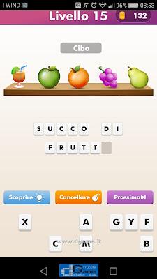 Emoji Quiz soluzione livello 15