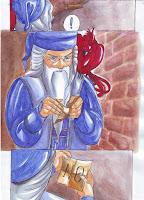 dumbledore y fenix