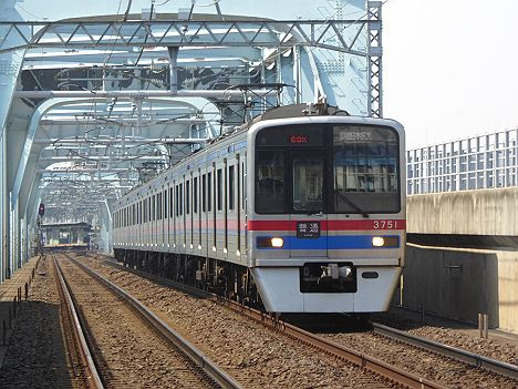 【1日1~2本だけ!】京成K運用の普通 印旛日本医大行き3700形