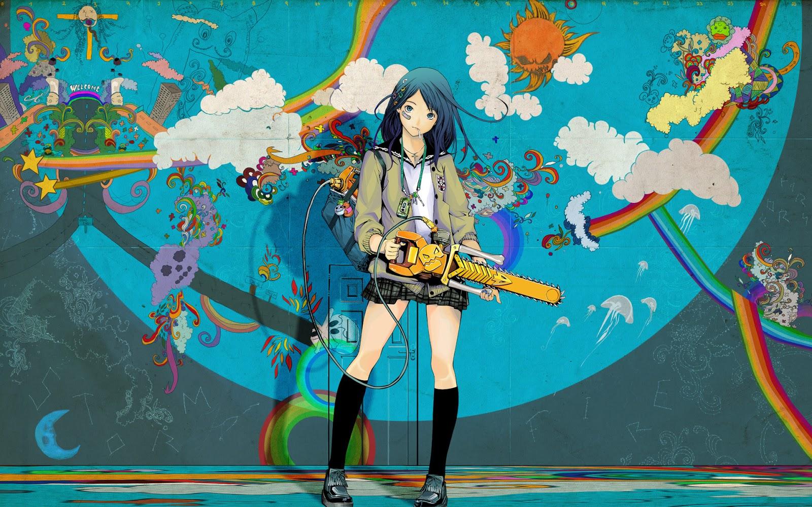 Evil Anime Girl Wallpapers