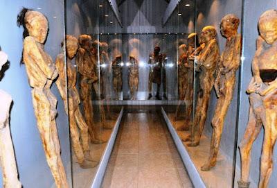 meksika mumya müzesi