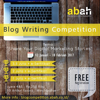 Lomba Menulis Blog SHARE YOUR DIGITAL MARKETING STORIES