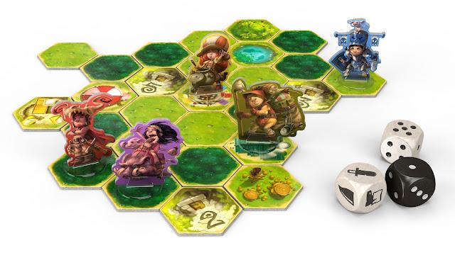 Heldentaufe Kickstarter Overworld