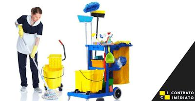 vaga de servente de limpeza em curitiba