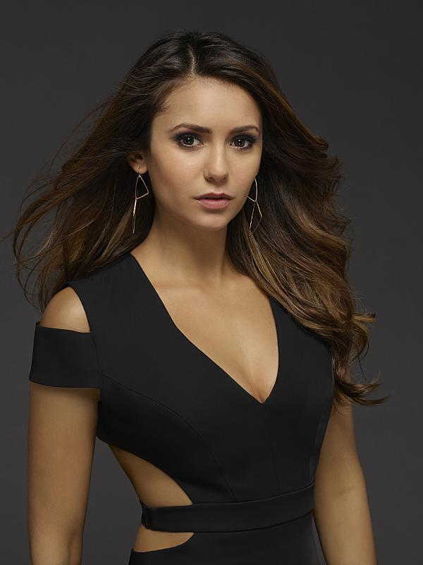 Nina Dobrev as Elena Gilbert Cornered Earrings
