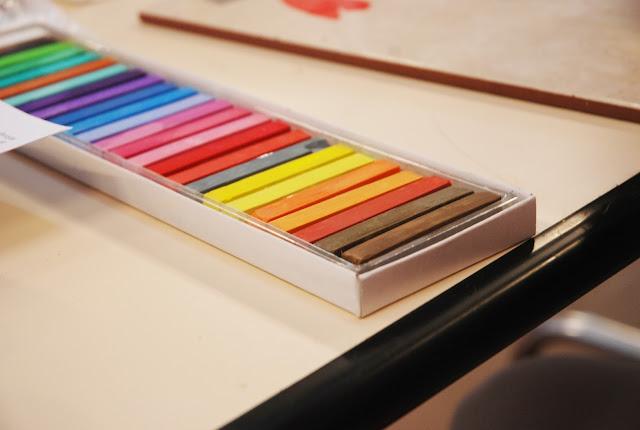 pastels secs
