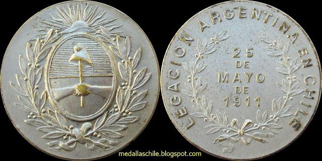 Legación Argentina en Chile 25.05.1911