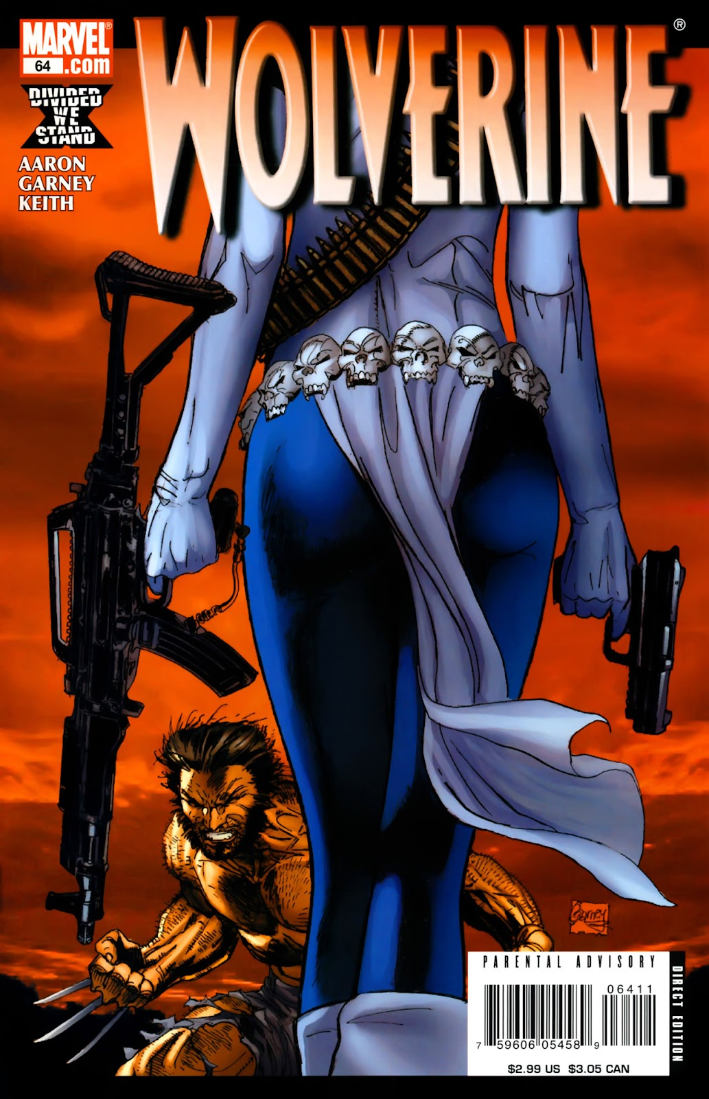 Read online Wolverine (2003) comic -  Issue #64 - 1