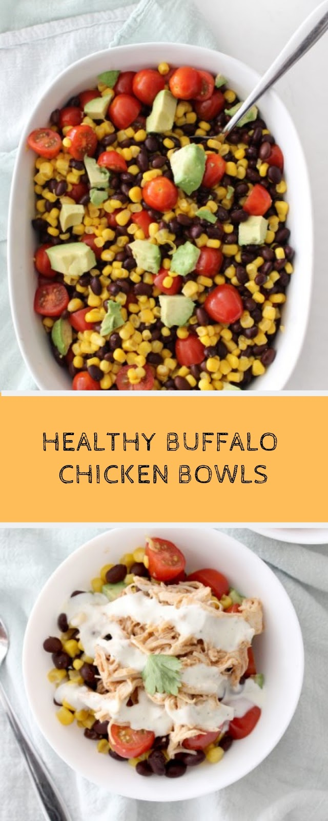Buffalo Chicken Bowls