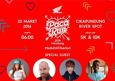 PacaRun 2016 Bandung, Cikapundung River Spot