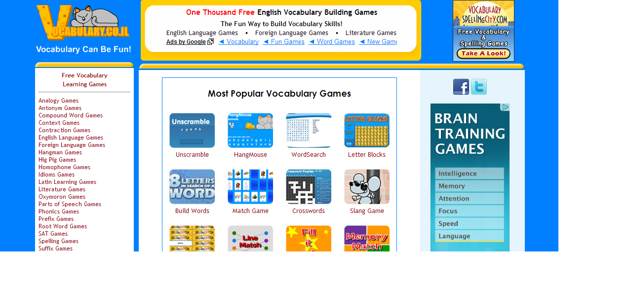 english games online
