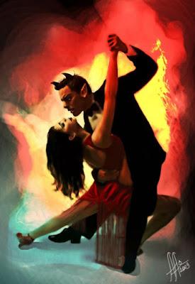 Image result for el diablo le aparece una pareja en el baile