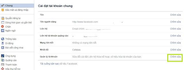 (FAQ 1) - Khóa tài khoản Facebook tạm thời và mở khóa Facebook trên Cốc Cốc 1
