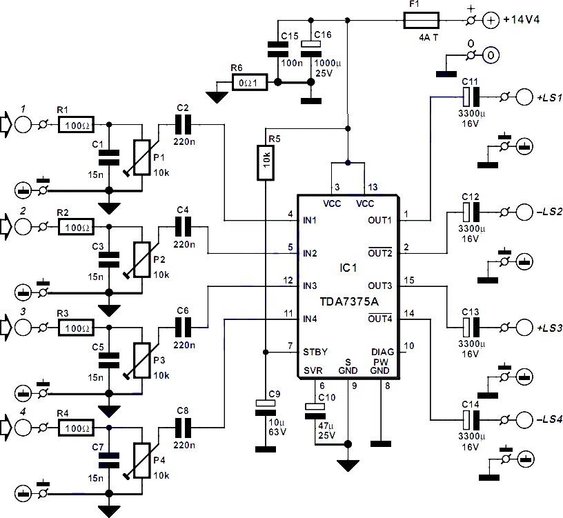 18watt audio amplifier