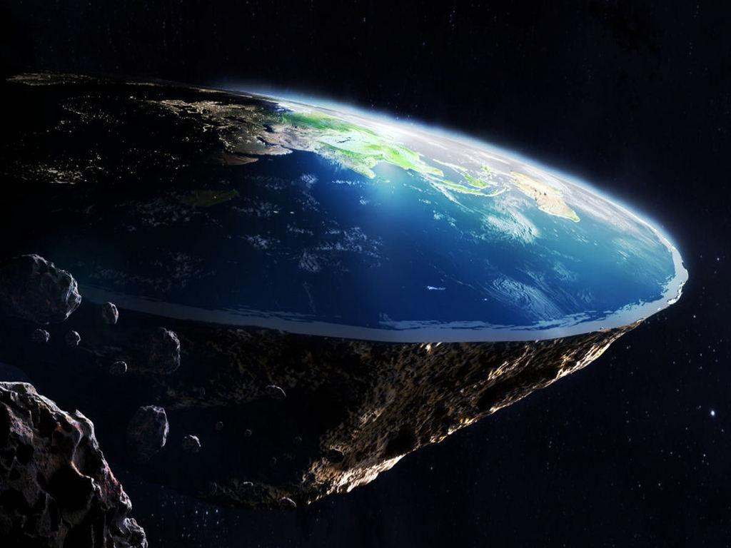 Bumi bulat atau mendatar
