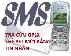 Tra Cứu Thông Tin GPLX Qua Tin Nhắn MSM