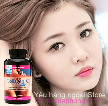 SUPER COLLAGEN + C TYPE 1&3 NEOCELL 120 VIÊN