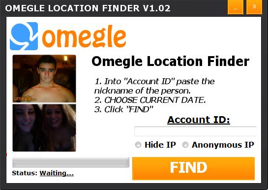 Omegle Location Finder V